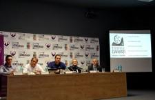 Prezent la Cluj, pentru a prefața turneul internațional Trofeul Carpați, președintele FRH, Alexandru Dedu, a anunțat că viitorul selecționer va fi prezentat în martie la Cluj / Foto: Dan Bodea
