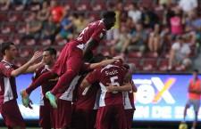 CFR-iștii pot sărbătorii,   toate litigiile clubului au fost suspendate,   iar săptămâna viitoare cel mai probabil își vor recupera și punctele / Foto: Dan Bodea