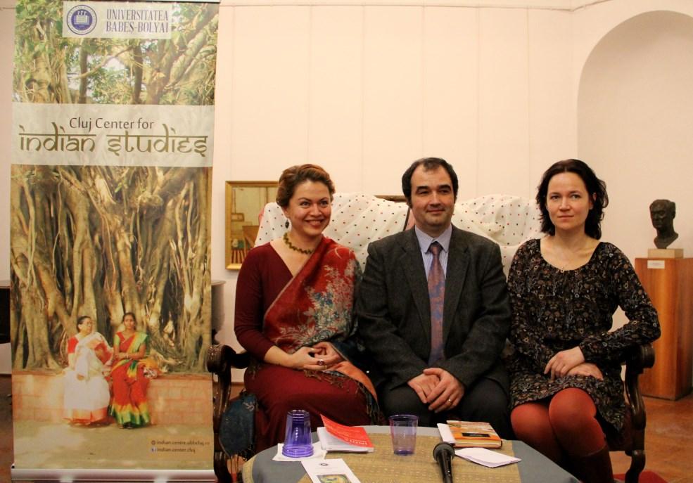 De la dreapta,   la stânga: Mihaela Gligor,   Traian Penciuc și Mihaela Ursa/Foto: Dan Bodea