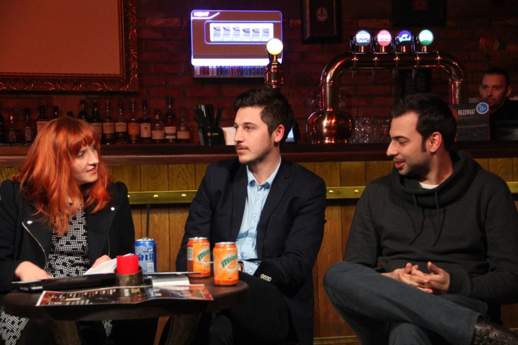 Diana Apan,   Constantin Covaliu și Răzvan Luca/Foto: Dan Bodea
