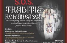 Gala tradiţiei şi portului românesc la Berăria Culturală