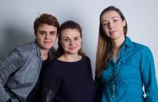 Cecilia Măruță,   Ioana Căprar și Raluca Crișan