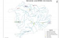 Lucrările de infrastructură propuse,   echipamentele și dotările vor fi instalate în puncte distincte pe întreg teritoriul românesc.
