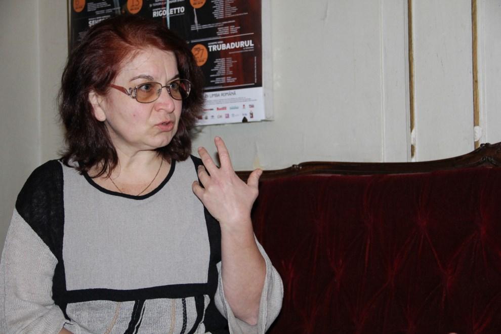 Crina Luciana Onaca,   sufleor/Foto: Dan Bodea