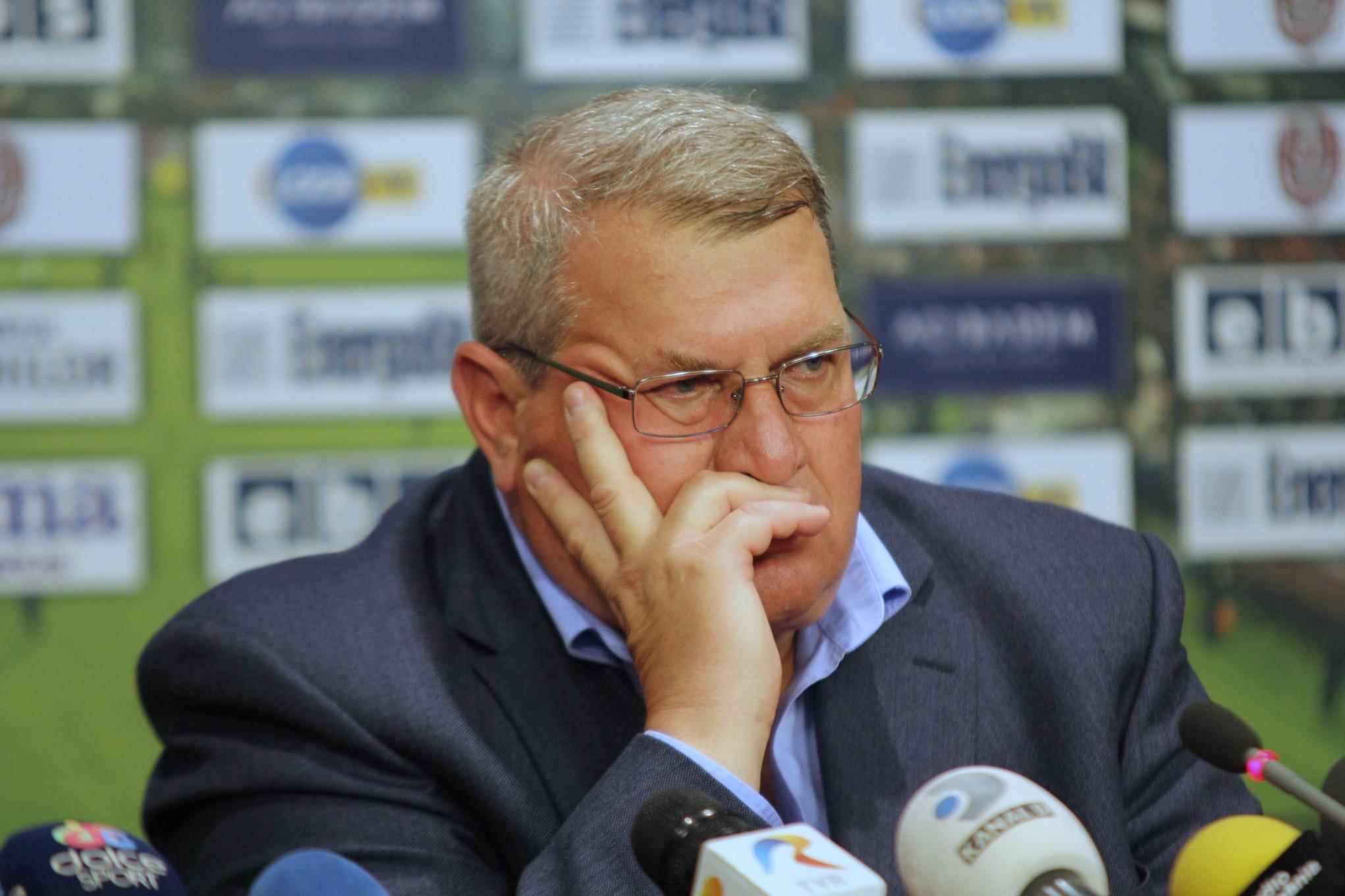 Preşedintele CFR-ului, Iuliu Mureşan, nu a primit răspunsul așteptat de la TAS / Foto: Dan Bodea
