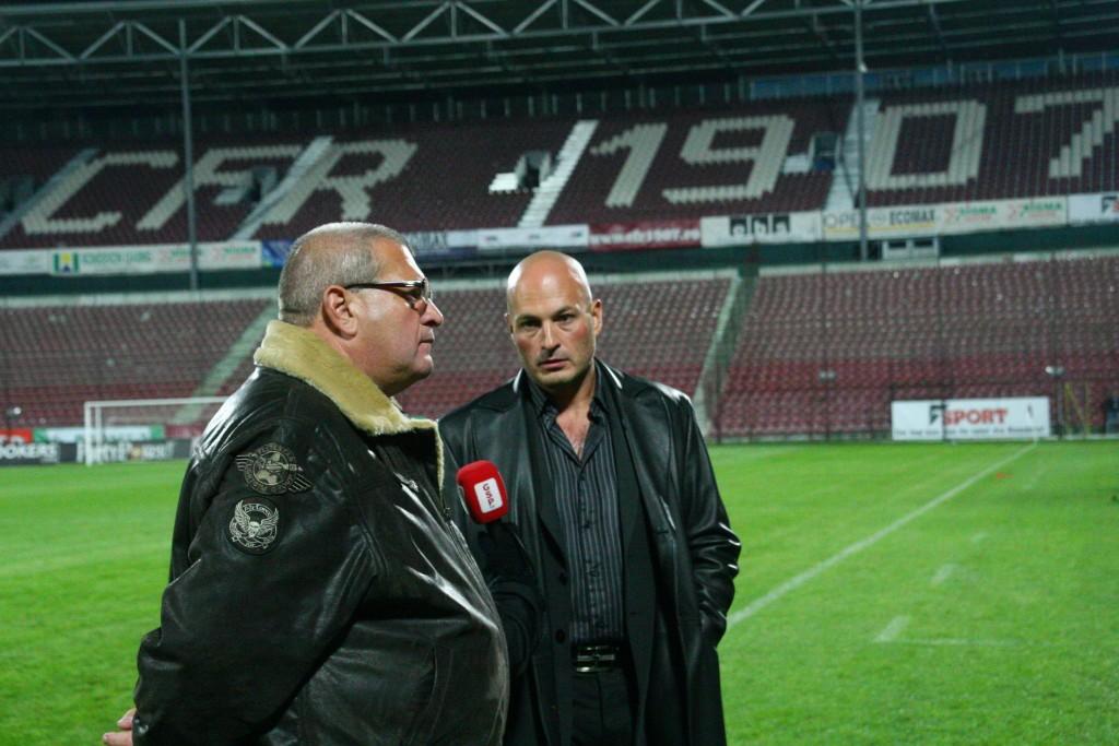 Ion Mureșan și Arpad Paszkanyi / Foto: Dan Bodea