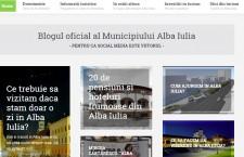 Alba Iulia,   promovată cu ajutorul unui blog oficial de turism.