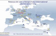 Noi destinaţii şi noi recorduri de trafic de pe Aeroportul Avram Iancu