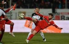 Bilinski a marcat două goluri în victoria lui Dinamo,   scor 3-0,   în faţa Universităţii Cluj