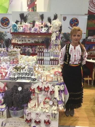 Gabriela Culda,   producător de lavandă