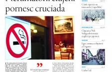 """Nu ratați noul număr din Transilvania Reporter: """" Cruciada nefumătorilor pleacă de la Cluj"""""""