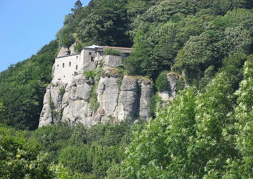 Sanctuarul Alverna din Toscana