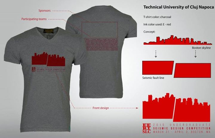 Designul tricoului oficial al competiției e realizat de echipa din Cluj.