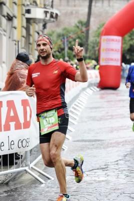 Tudor Șofron,   în timpul Maratonului de la Roma