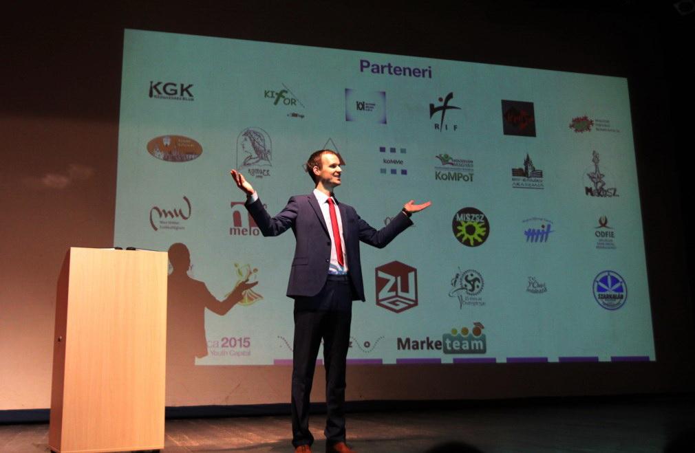 Vlad Pop,   președinte al Federației Share/Foto: Dan Bodea