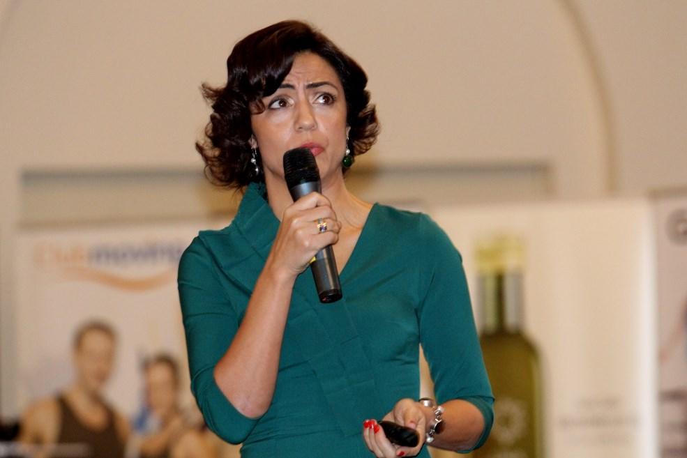 """Amalia Steresu,   în cadrul conferinșei """"The Woman"""" / Foto: Dan Bodea"""