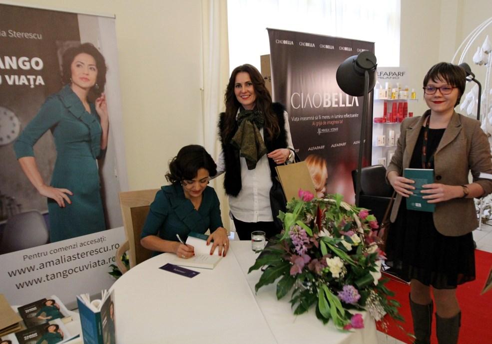 """Amalia Steresu,   în cadrul conferinței """"The Woman"""" / Foto: Dan Bodea"""