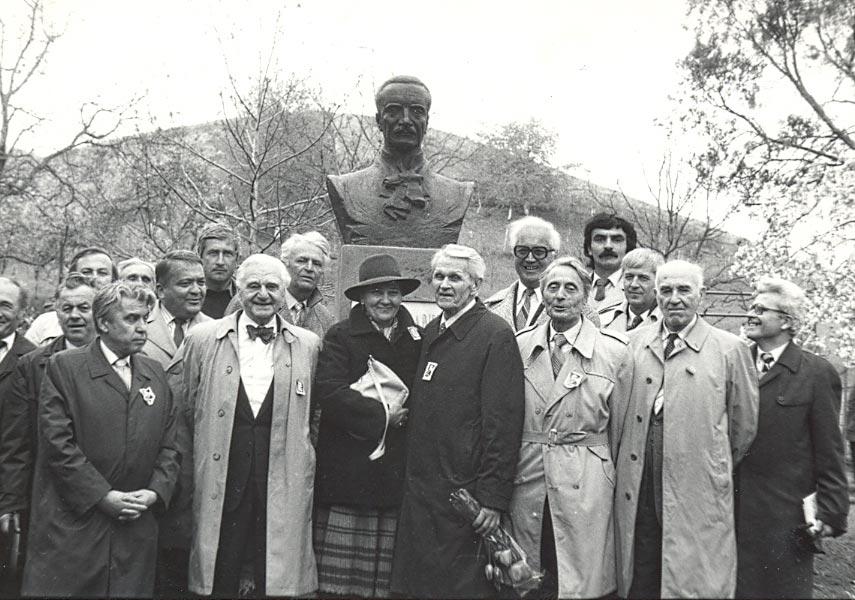 Sfințireaa bustului la Badacin - 1991