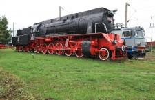 """Locomotiva """"Mariana"""" este unică în Europa. A fost constrită la Uzina Malaxa(Uzina 23 august,   București) în 1940"""