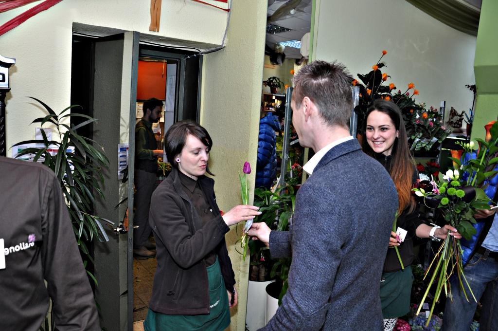 Flori pentru florăresele din Cluj