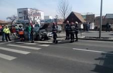 Calea Turzii nu scapă de accidente. Drum modernizat,   prost semnalizat