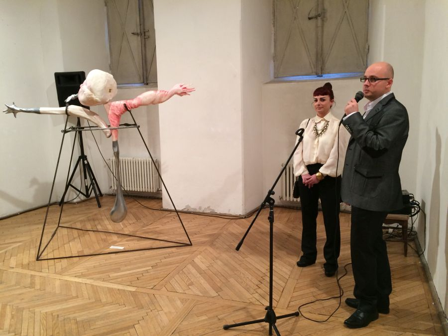 Elena Ilash și Dan Breaz/Foto: Cristina Beligăr