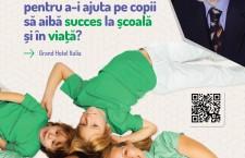 Prima conferință de parenting din Cluj-Napoca,   oferită de un expert internațional în domeniu