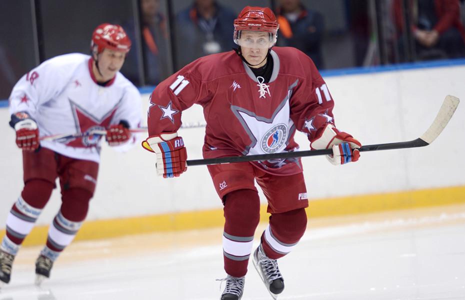 Putin pe gheață