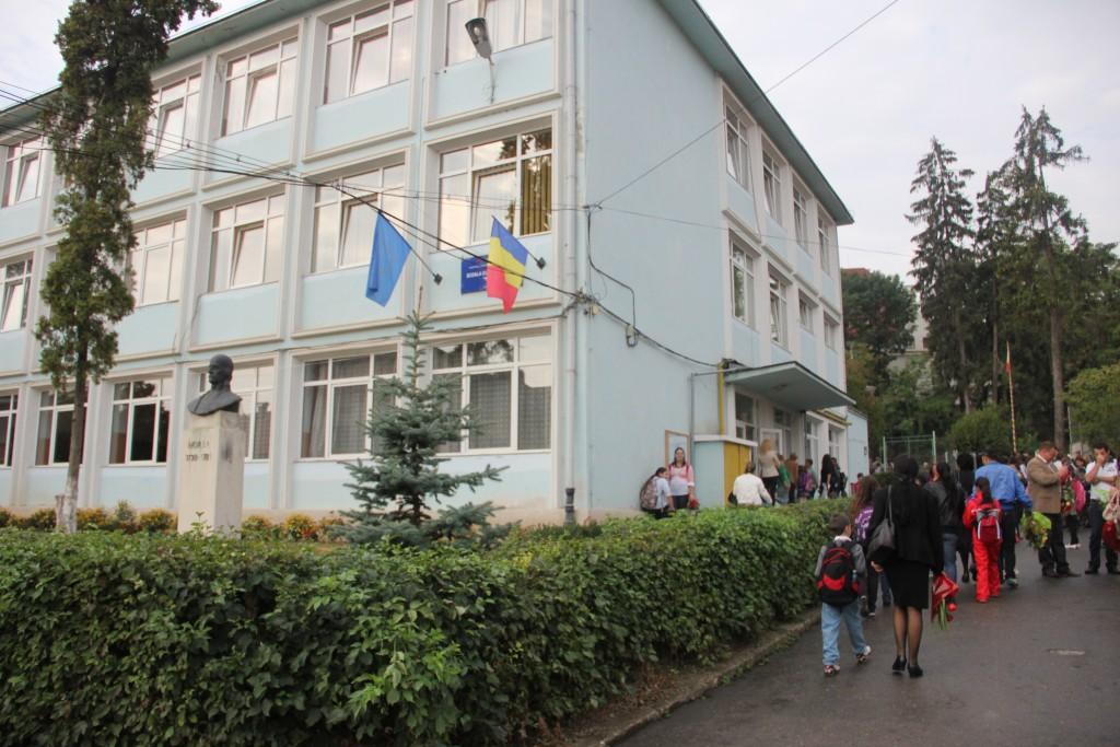 """Școala gimnazială """"Horea"""" / Foto: Dan Bodea"""