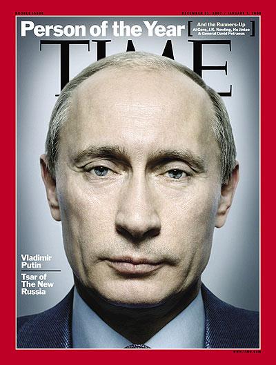 "Putin pe coperta revistei americane ""Time"""