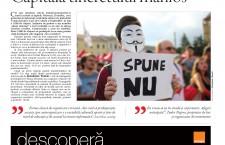 """Nu ratați noul număr al săptămânalului Transilvania Reporter: """"Capitala tineretului mânios"""""""
