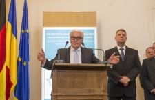 Ministrul de Externe german,   Frank-Walter Steinmeier în România / Foto: Vakarcs Lorand