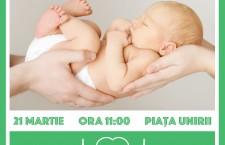 Marșul pentru viață,   singurul eveniment comun al tuturor creștinilor din Cluj-Napoca,   dorește să reducă numărul de avorturi