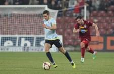 Campioana României,   Steaua,   s-a impus la limită în faţa CFR-ului,   dar ardelenii au dominat întâlnirea din Ghencea,   mai bine de o oră de joc / Foto: Dan Bodea