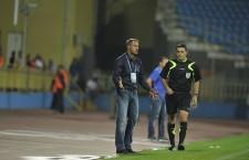 Cristi Dulca a obținut primul succes în calitate de selecționer al României U21,   scor 3-0 cu Islanda,   într-un meci amical / Foto: Dan Bodea
