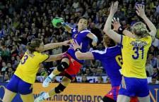 Cu cele 7 goluri marcate în poarta Suediei, Cristina Neagu nu a reușit să evite înfrângerea României în fața nordicelor / Foto: Dan Bodea
