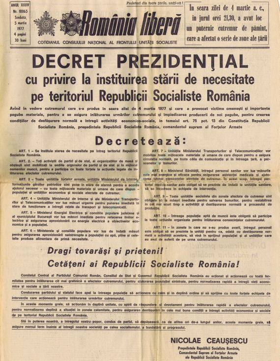 Decretul prezidențial