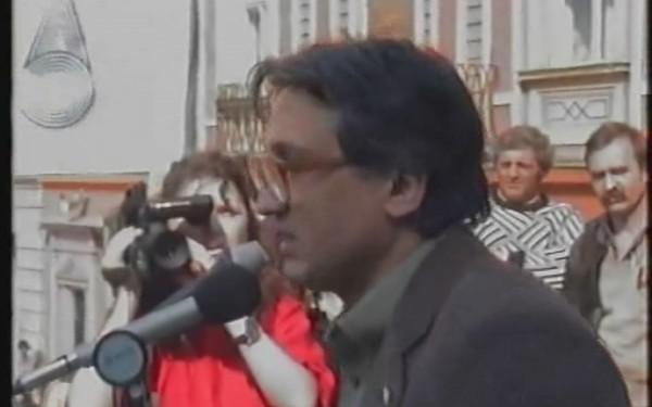 George Şerban,   autorul Proclamaţiei,   era membru al Societăţii Timişoara,   promotoarea acestui document istoric.
