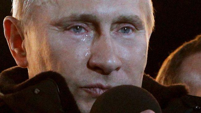 4 martie 2012,   un moment rar întâlnit: Vladimir Putin cel atotputernic şi-a permis să plângă în public,   în timpul primului său discurs de după alegerile prezidenţiale. Tocmai fusese ales pentru a treilea mandat la cârma ţării.