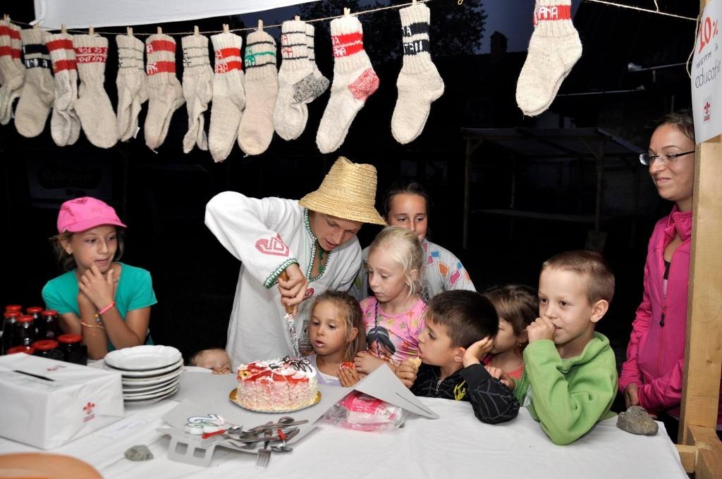 Tică și-a sărbătorit ziua de naștere împreună cu cercetașii / Foto: Radu Cristi