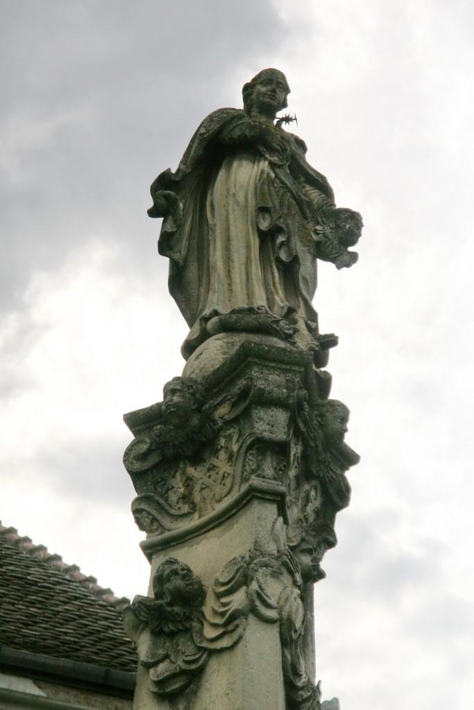 Statuia Sfânta Maria / Foto: Dan Bodea