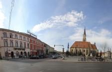 Latura vestică a Pieței va fi închisă circulației/ Foto: Dan Bodea