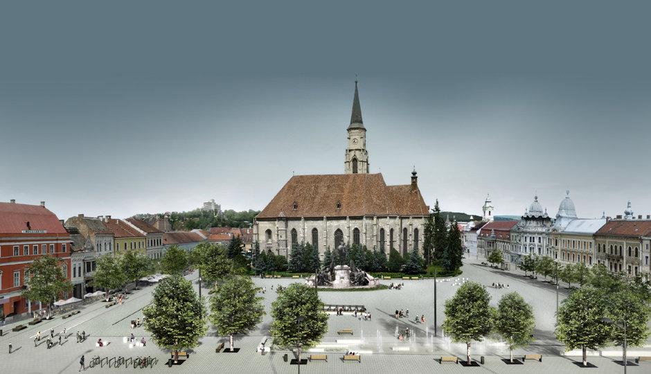 Așa arată proiectul arhitecților pentru Piața Unirii