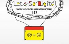 Încep înscrierile pentru Let's Go Digital!,   atelierul adolescenților la TIFF
