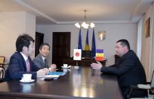Ambasadorul Japoniei,   în vizită la Consiliul Judeţean
