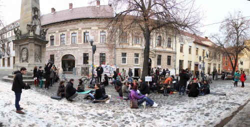 Picnic multicultural în Piața Unirii / Foto: Dan Bodea