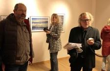 Mihai Moiceanu (stânga) și Morten Krogvold,   directorul artistic al festivalului Nordic Light