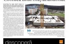 """Nu ratați noul număr din Transilvania Reporter: """"Orașul abandonat de sus"""""""