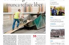 """Nu ratați noul număr al săptămânalului Transilvania Reporter: """"1 Mai,   singura zi în care munca te face liber"""""""