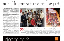"""Nu ratați noul număr Transilvania Reporter: """"Matematica e noua brățară de aur. Clujenii sunt primii pe țară"""""""
